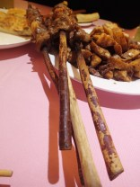 Desirable wooden kebab sticks